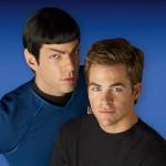 Spock e Kirk nel film del 2009 di J.J. Abrams