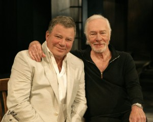 Shatner e Plummer