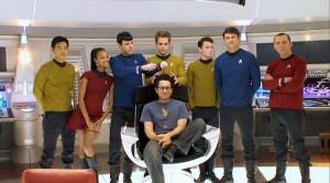 J.J. Abrams e il cast del suo primo Star Trek