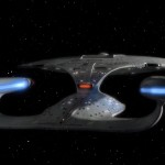 L'Enterprise-D come si vedrà nei Blu-ray