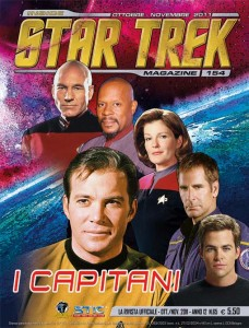 Copertina Inside Star Trek Magazine 154
