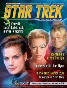 Copertina Inside Star Trek Magazine 156