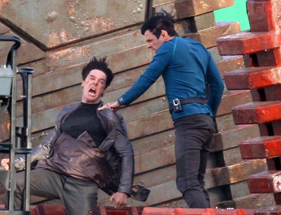 Spock e il cattivo del nuovo film