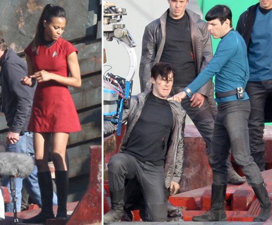 Altre scene dal set del nuovo film