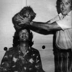 David Gerrold e William Shatner all'epoca delle riprese dell'episodio