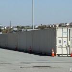 Muro di container