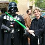 Filippo e Darth Vader
