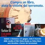 Compra un libro, aiuta le vittime del terremoto.