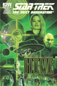 Star Trek The Next Generation-HIVE, n.1 - Copertina A