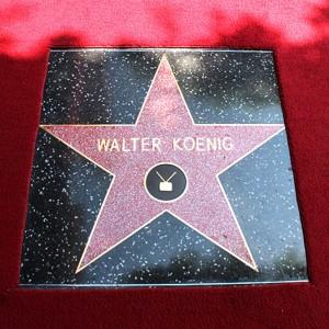 La stella dedicata a Walter Koenig