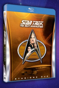 La seconda stagione di Star Trek: The Next Generation in blu-ray