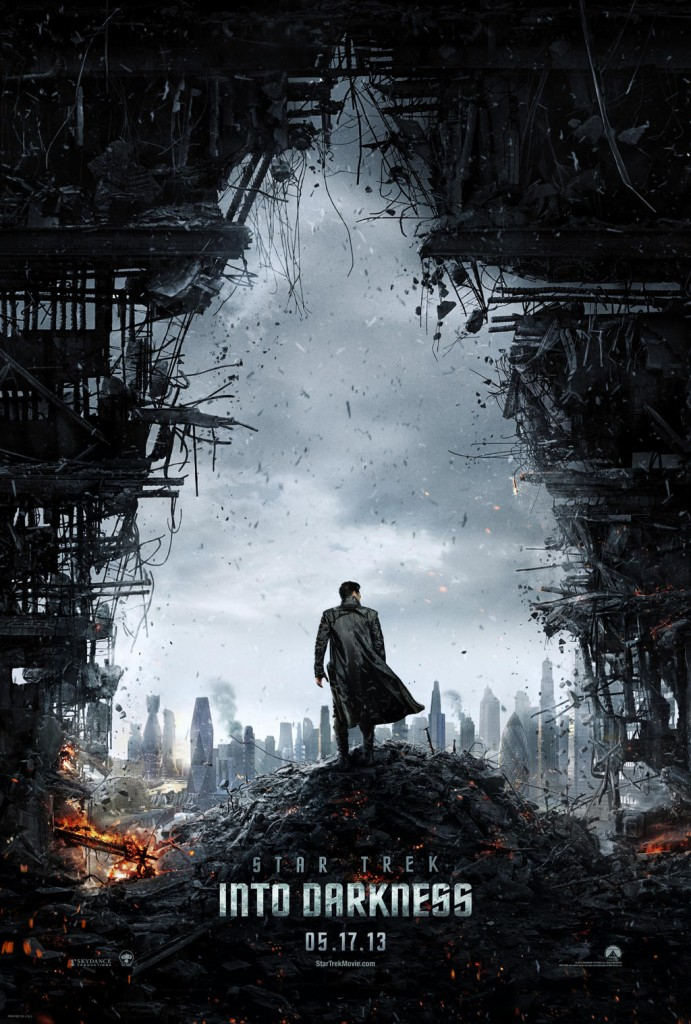 Il primo poster di Star Trek Into Darkness