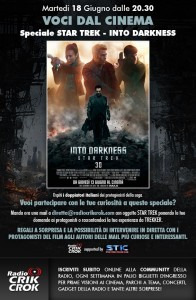 "Voci Dal Cinema - Speciale ""STAR TREK - INTO DARKNESS"""