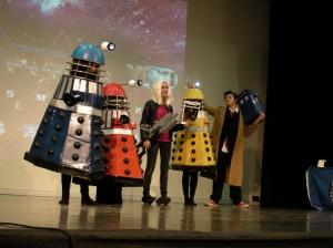 Dalek, Dottore e companion