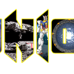 Il logo della decima edizione della Reunion raccoglie le immagini dei molti universi della fantascienza.