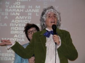 Gabriella e Federica interpretano due dei Dottori