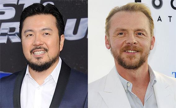 Il regista Justin Lin e l'autore/attore Simon Pegg