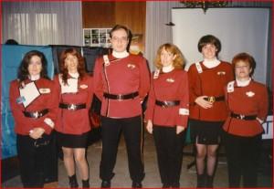 Annarita Guarnieri è la seconda da sinistra in questa foto del 1993