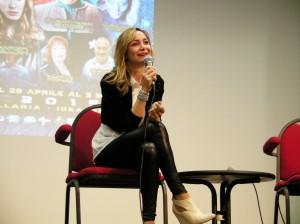Francesca Manicone, doppiatrice di Karen Gillan.