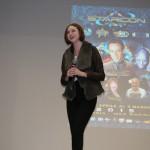 """Karen Gillan, alias Amy Pond di """"Doctor Who"""""""