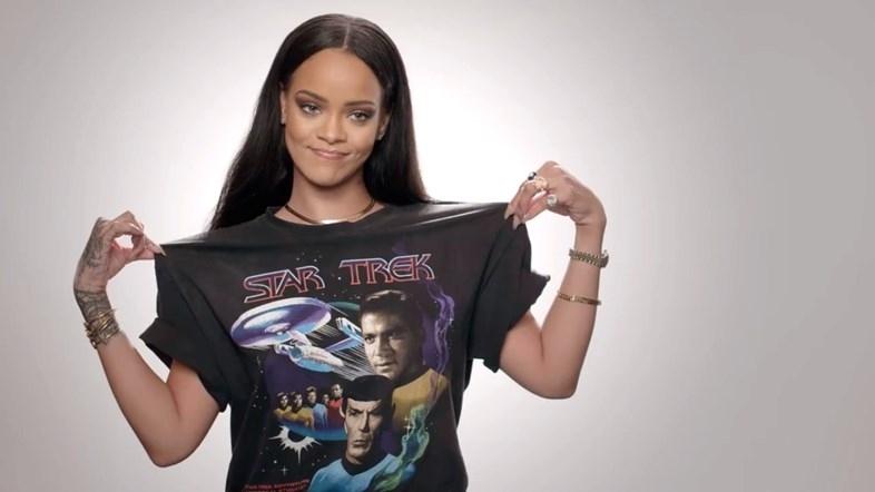 """Rihanna """"Trek"""""""