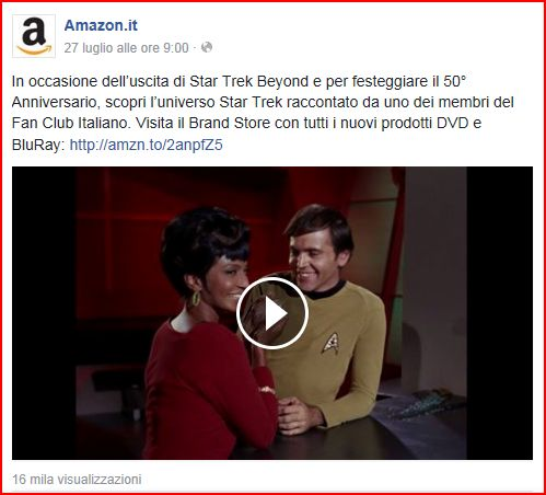 Star Trek su Amazon