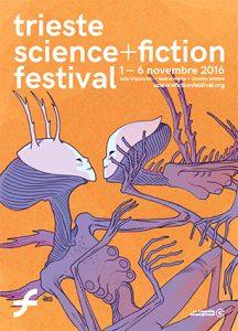 Il manifesto ufficiale del Trieste Science+Fiction Festival realizzato da Davide Toffolo