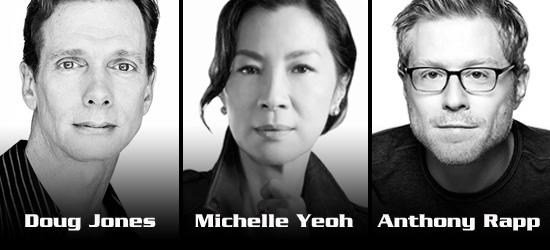 I tre primi attori del cast di Star Trek: Discovery.