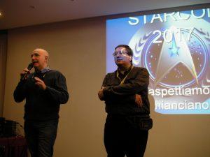 Massimo Romani e Nicola Vianello durante la conferenza stampa, alla Reunion 2016.